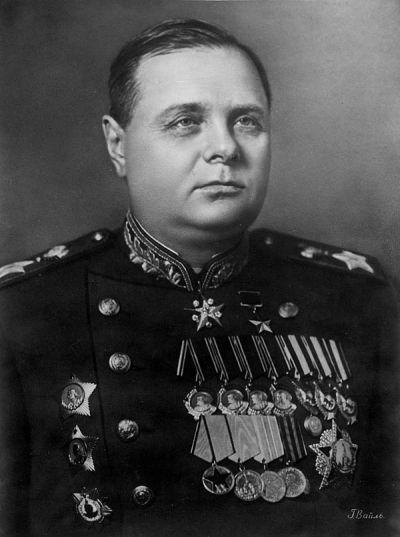 Кирилл Афанасьевич Мерецков