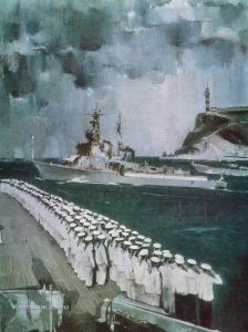 Шибаев Юрий Николаевич (1930-1986) «В суровый поход» 1977