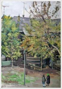 Шубина Галина Константиновна (Россия, 1902-1980) «Перуновский переулок» 1960-е