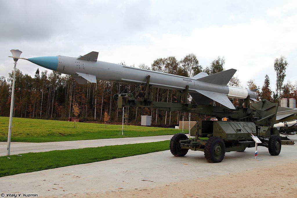 ЗРК С-25 с ЗУР В-300 в парк «Патриот»