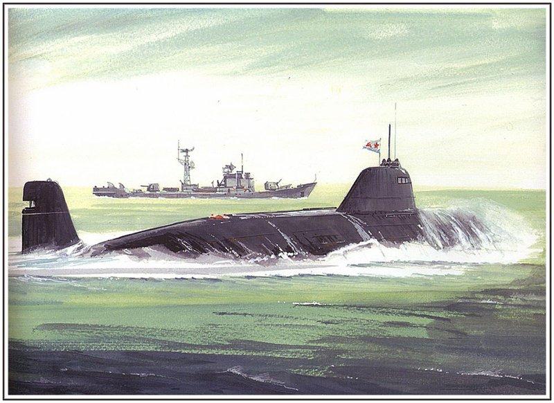Атомная подводная лодка 671РТ