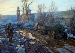 Фаюстов Максим. Холода и вода на дорогах войны.
