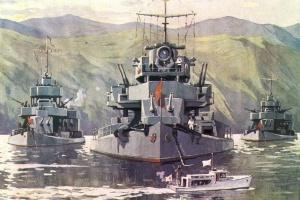 Сотсков Геннадий. Захват и разоружения кораблей флотилии Сунгари.