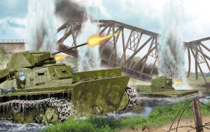 Петелин Валерий. Танки Т-40С и Т-38.
