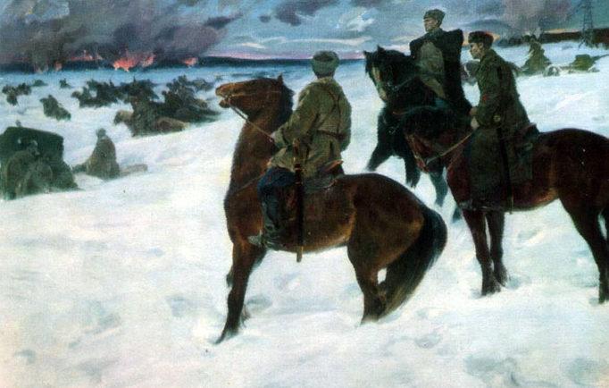 Шаталин Виктор. Битва за Москву.