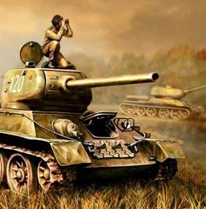 Шумилов Александр. Танк Т-34/85.