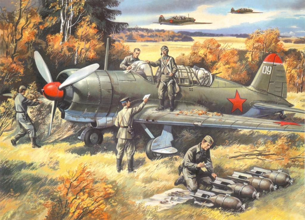 Руденко Валерий. Бомбардировщик СУ-2.