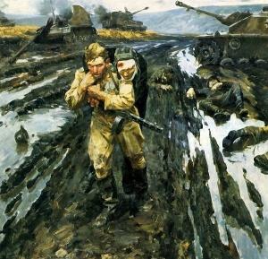 Пузырьков Виктор. Солдаты.