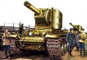 Юров Юрий. Танк КВ-2.