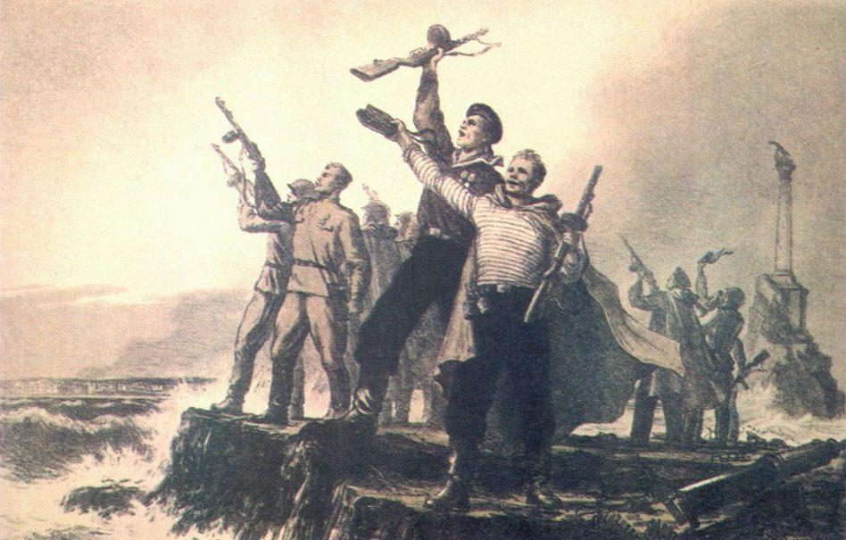 Баранов Петр. Севастополь освобожден.