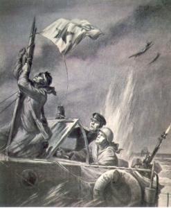 Баранов Петр. Флаг корабля.