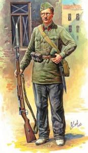 Ежев Александр. Ополченец.
