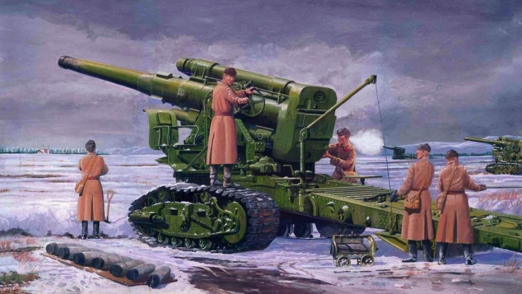 203-мм гаубица Б-4 модификации 1931 года