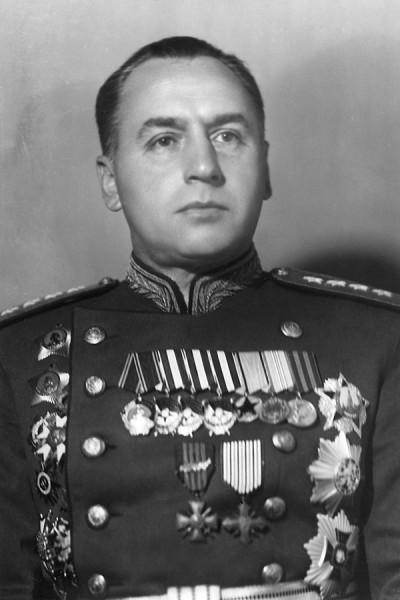 Начальник Генерального штаба Красной Армии генерал армии А. И. Антонов