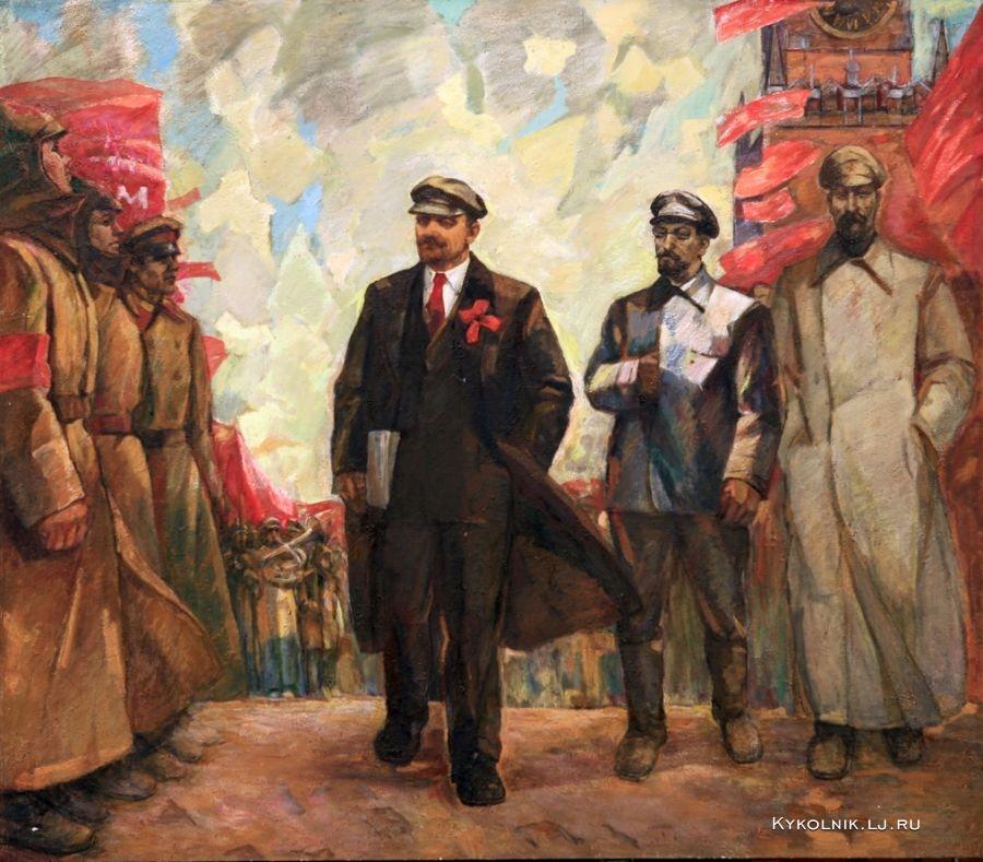 Кабыш Иван Ефимович (Украина, 1926) «На Красной Площади»