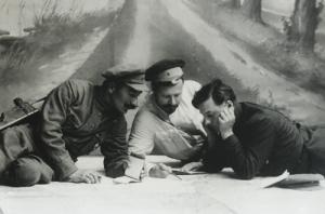 Буденный Фрунзе и Ворошилов
