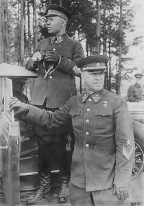 Жуков_и_Тимошенко,_1940_год