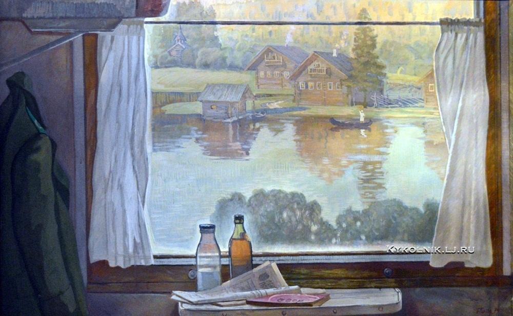 Поморцев Борис Николаевич (1932) «На Западно-Карельской» 1977