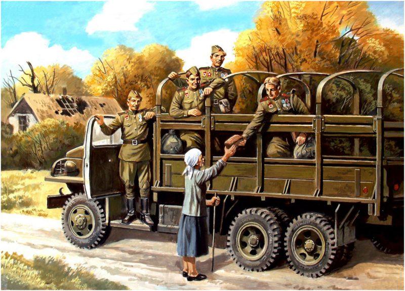 Руденко Валерий. Грузовик Studebaker US-6.