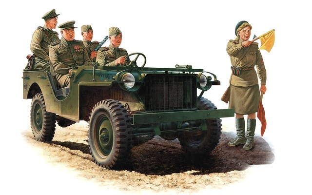 Каращук Андрей. Советский командирский автомобиль.