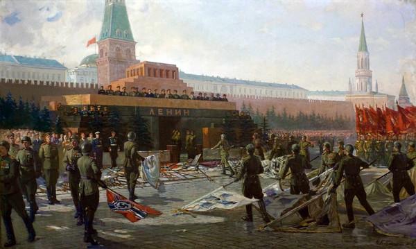 Бабасюк Николай. Парад Победы в Москве.