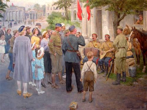 Владимиров Иван. Русская армия в Берлине.