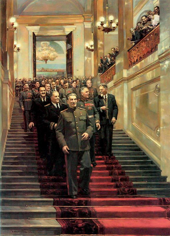 Дмитрий Налбандян. Торжественный прием в Кремле в 1945 году