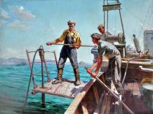 Керимов Г. (?) «Поиск нефти» 1958