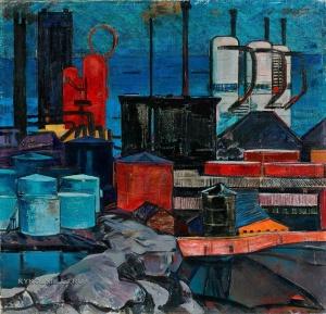 Абдурахманов Надир Гамбар оглу (1925-2008) «Индустриальный Баку» 1965