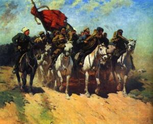 М. Греков. Трубачи Первой Конной армии