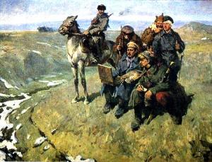 А. Чернышев. М. Греков в Первой Конной армии.