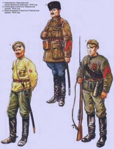 Добровольческие формирования РККА (1918 - 1920 г.г.) Худ. Роберто Паласиос-Фернандес