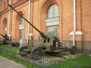С-60 в Артиллерийском музее Санкт-Петербурга