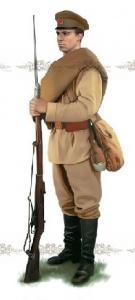 Рядовой 51-го пехотного Литовского полка, 1914 г. Норт, Джонатан. Солдаты Первой мировой войны 1914—1918.