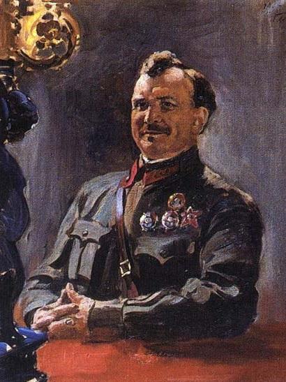 Герасимов Александр Михайлович. Щаденко Ефим Афанасьевич ( 1935). Государственный Русский музей, Санкт-Петербург