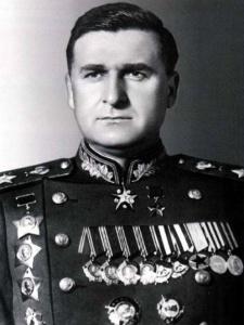 Маршал В. Д. Соколовский