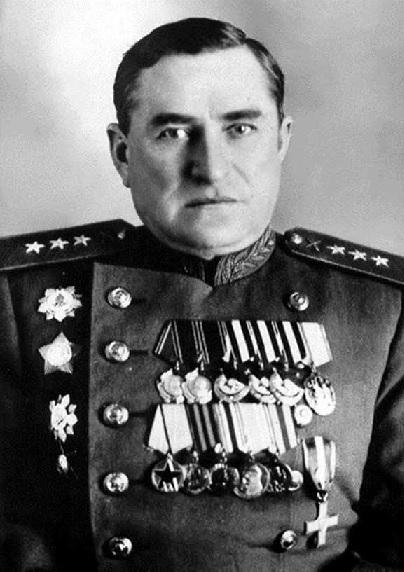 Генерал-полковник И.И. Волкотрубенко