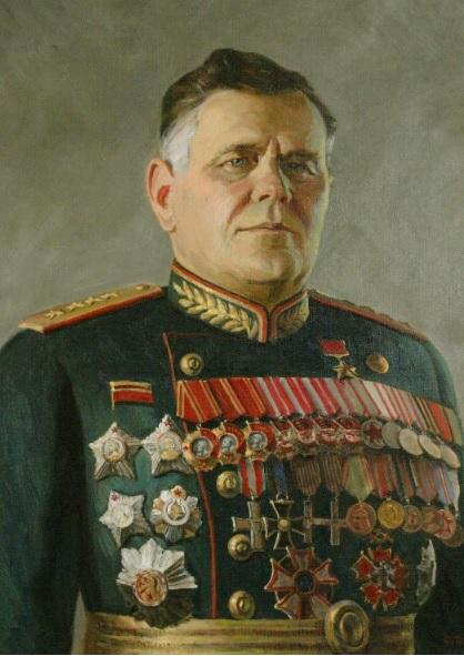 Генерал армии А.И. Ерёменко. Сергей Трошин. 2010