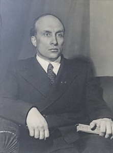 Академик Александр Николаевич Несмеянов. Фото Григория Вайля, Архив РАН