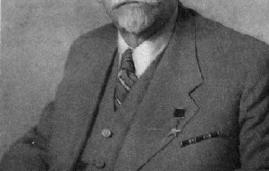 Н. Д. Зелинский, 1950 г.