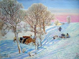 У колодца. Климентов Михаил Иванович (1889-1969)