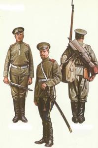 Русская армия в Первой мировой войне 1914-1917 гг. - Униформа.