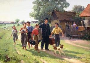 Савин Виктор Маркиянович (1907-1971) «ВУЗ окончил» 1955