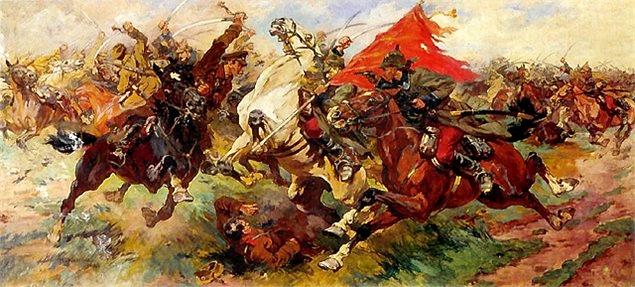 М. Греков. Красная конница