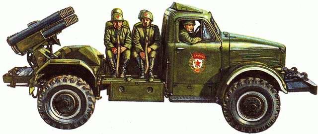 БМ-14. Иллюстрация из книги : Исмагилов Р.. Артиллерия и минометы XX века
