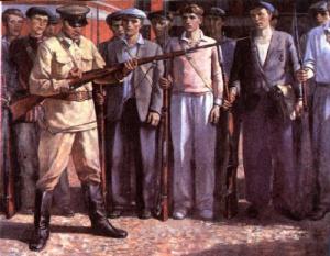 Майборода Виталий. Москва 1941 год.