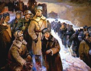Тельнов Вячеслав. Сталинград, год 1943.