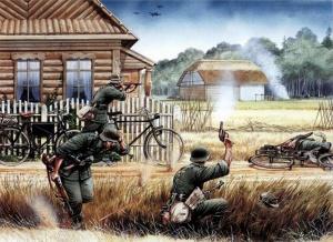 Рыженко Павел. Немецкие корректировщики огня.