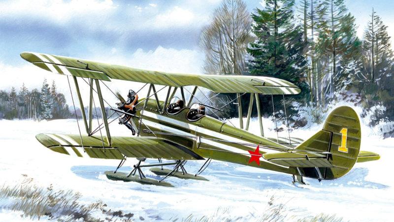 Руденко Валерий. Многоцелевой самолет По-2 (У-2).