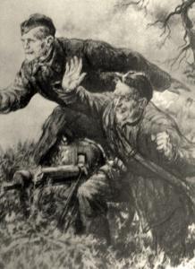 Жуков Николай. Атака отбита.